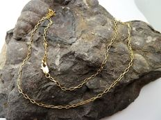Chain of 18 kt gold - 46 cm
