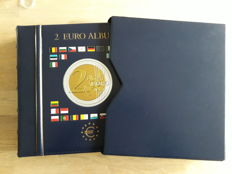 Europe - 2 Euro 2008/2017 (coloured Euro coins, 46 pieces)