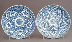 Lobed dishes with a floral décor, marked – China – around 1700, Kangxi period (1662–1722)