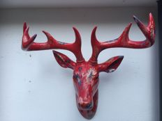 Unknown Maker - Decorative Steer Skull