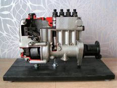 MOTORPAL - Injection pump cross section model, technical - 1970s - Manufactured in Czechoslovakia