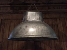 "Unknown designer - Oval industrial lamp, model ""U-Boat""."