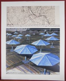 Javacheff Christo - Umbrellas project