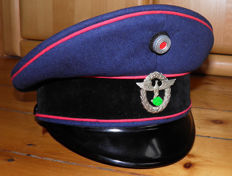 Officer Visor Cap, 1 Model. very rare !!