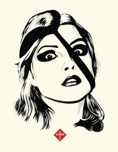 Shepard Fairey (OBEY) - Debbie Harry Letterpress