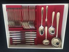 41 pieces silver plated Christofle cutlery