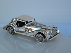Morgan silver car, Scaber 628AR, Italy, 20th century