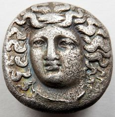 Ancient Greece – Silver drachma of Thessaly, Larissa, circa 356–342 A.D.