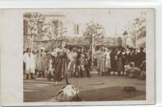 North Africa, 100 x -Mostly Types in Algeria and Tunisia Beduines, vendors, Dancers-period:1900/1930