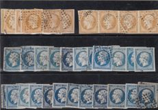 France 1850/1900 – collection with multiples, selected pieces.