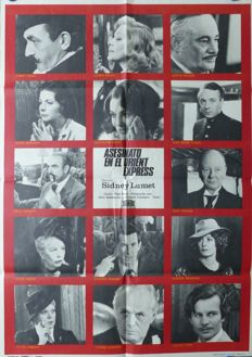 Anonymous - Asesinato en el Orient Express (Murder on the Orient Express, Albert Finney, Ingrid Bergman) - 1974