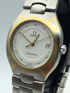 OMEGA Seamaster Polaris 18k Gold SS steel as NEW traveler box