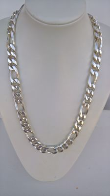 SILVER NECKLACE 925/1,000 – NEW – 331.80 g