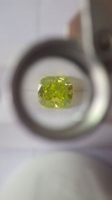 1.01ct Cushion diamond SI2