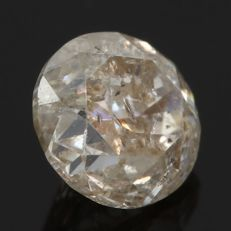 Natural diamond - 0.40 Cts - Light Grey