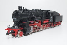 Roco H0 - 4112 - Steam locomotive with towed tender Series BR 58 of the DB