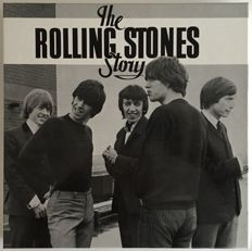 """The Rolling Stones Story"" :  12 Records in a Box with the original booklet"