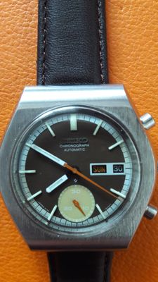 Seiko ,  chronograph, automatic, sport, 6139-8020 model  1970s.