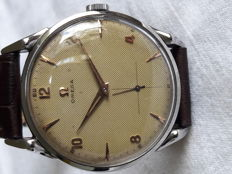 Omega Oversize Honeycomb Dial Spider Lugs 1953 Handwind