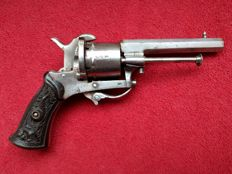 Graceful Ladies model Lefaucheux revolver 7 mm - ca. 1860