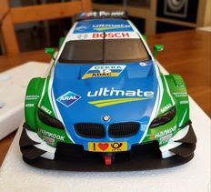 Minichamps - scale 1/18 - BMW M3 DTM the No. 1 of a limited edition of 1104 models