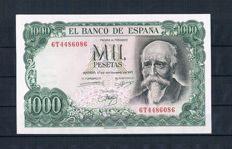 Spain - Collection of 17 banknotes from Spain