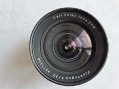 Carl Zeiss lens Flektogon 4/20 wide angle