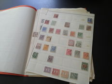 The Netherlands - collection, starting from 1852, on sheets