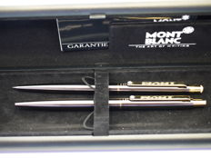 Montblanc Noblesse duo set - mechanical pencil and ballpoint - in original box and papers - new and unused