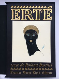 Roland Barthes - Erté - 1975