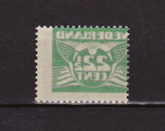 The Netherlands 1941 - Flying Pigeon, misprint - NVPH 387, with offset