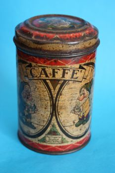 Disney, Walt - Coffee tin - Snow White (and the seven dwarfs) - (1938)