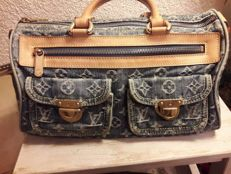 Louis Vuitton - Neo Speedy monogrammed denim bag
