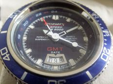 Formex DS 2000 Diver GMT Bullhead 30 ATM ( Patented model) - Men's wristwatch - 2016
