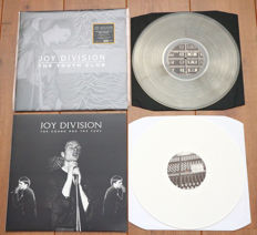 Joy Division- lot of 2 lp's: The Youth Club (limited & numbered, 300 copies, nr. 220/300, crystal vinyl) & The Sound And The Fury (on white wax, limited to 100 copies!)