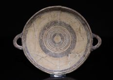 Ancient Cypriot Large Vessel Dish - Diameter: 31 cm - Low Reserve