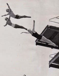 Unknown/ACMA photos - 'Marjorie Gestring during a spectacular dive', 1937