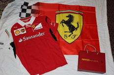 Puma - Scuderia Ferrari Team Official Polo year 2014 - Size L - New + official flag