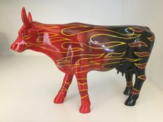 Cow Parade - La FLAM - Large - Resin - retired - museum edition