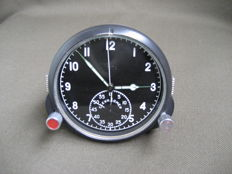 Pilot's clock 60ChP - Chronograph for the MiG fighter jet (СССР/USSR). 20th century.