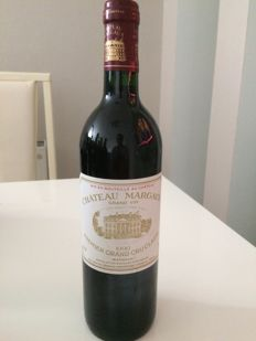1990 Chateau Margaux, Premier grand cru classe - 1 bottle (75cl) - 100 Parker pts