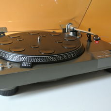 Sony PS-3750 Top Class turntable (1977) with Audio Technica cartridge