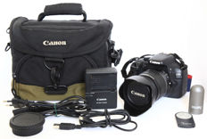 An excellent Canon EOS 550D with Canon EF-s 18-55 mm IS 1:3.5-5.6