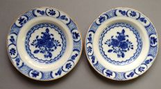 Two antique dishes
