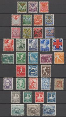 The Netherlands 1925/1935 - Selection between NVPH 166 and 282