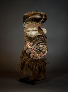 African Tribal GUERE mask. Liberia.