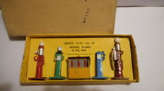 Dinky Toys - Scale 1/43 - Petrol Pumps 5-piece set No.49