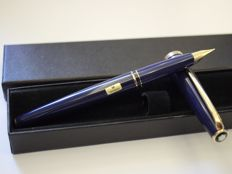Montblanc Generation blue fountain pen - 14k solid gold nib - New and unused