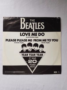 Beatles promotion disc, very rare, made in Holland