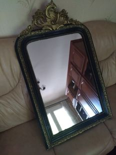Mirror frame in wood and plaster - France - c. 1900